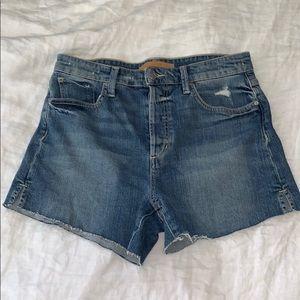 Joe's highwaisted Jean shorts